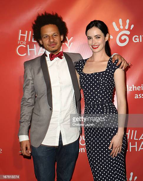 Actors Eric Andre and Krysten Ritter attend the Second Annual Hilarity For Charity benefiting The Alzheimer's Association at the Avalon on April 25...