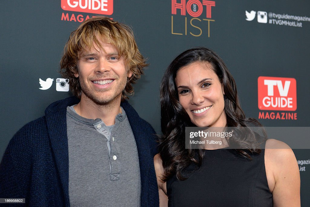 Actors Eric Christian Olsen and Daniela Ruah attend TV Guide Magazine's Annual Hot List Party at The Emerson Theatre on November 4, 2013 in Hollywood, California.