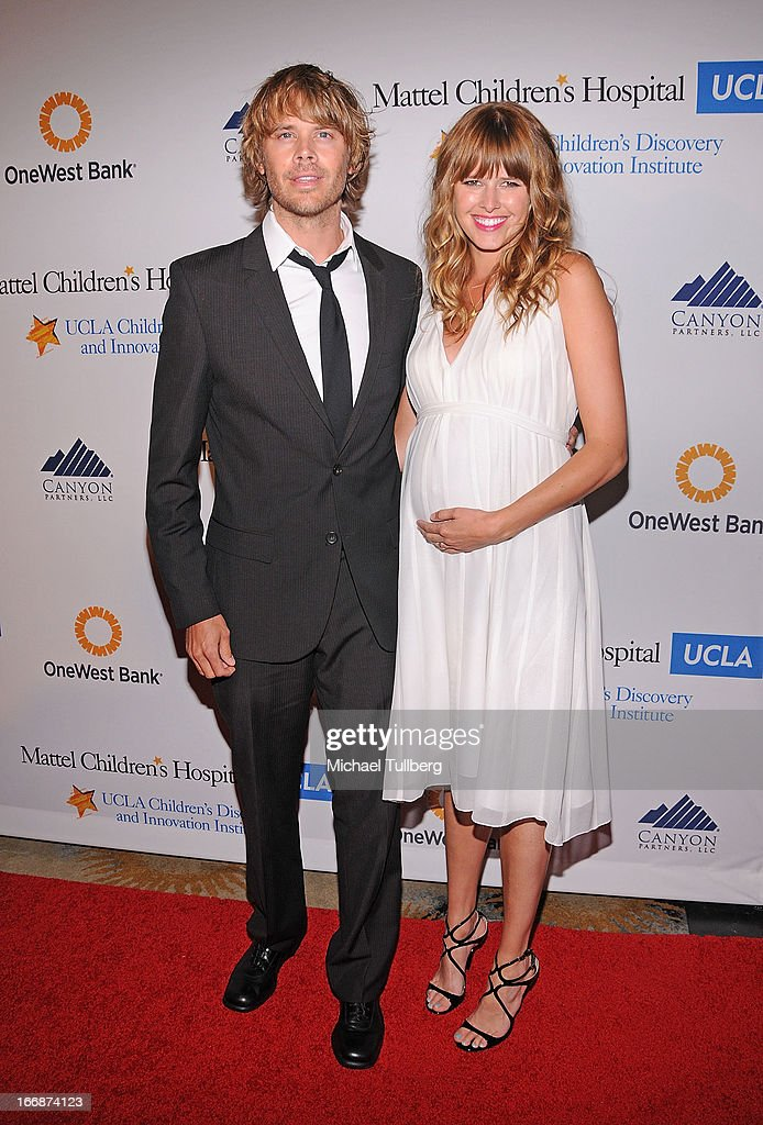 Actors <a gi-track='captionPersonalityLinkClicked' href=/galleries/search?phrase=Eric+Christian+Olsen&family=editorial&specificpeople=549583 ng-click='$event.stopPropagation()'>Eric Christian Olsen</a> and <a gi-track='captionPersonalityLinkClicked' href=/galleries/search?phrase=Sarah+Wright&family=editorial&specificpeople=238872 ng-click='$event.stopPropagation()'>Sarah Wright</a> attend 'The Kaleidescope Ball' benefitting The UCLA Children's Discovery And Innovation at Beverly Hills Hotel on April 17, 2013 in Beverly Hills, California.