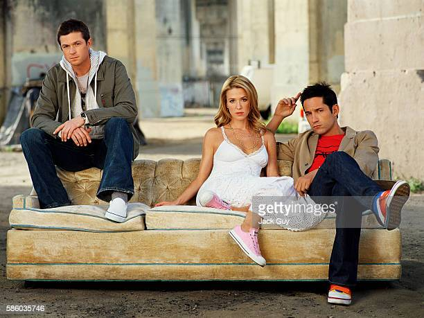 Actors Eric Close Poppy Montgomery and Enrique Murciano are photographed for TV Guide Magazine in 2006 Photo by Jack Guy/Corbis via Contour by Getty...