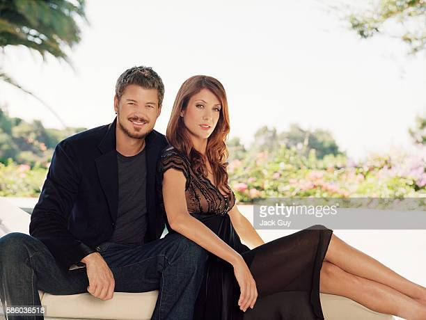 Actors Eric Dane and Kate Walsh are photographed TV Guide Magazine in 2006 in Los Angeles California