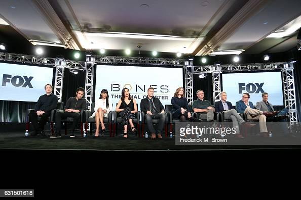Actors Eric Millegan John Boyd Tamara Taylor Michaela Conlin David Boreanaz and Emily Deschanel Creator/Executive Producer Hart Hanson and Executive...