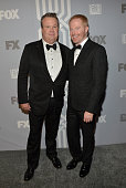 Actors Eric Stonestreet and Jesse Tyler Ferguson attend the Fox Broadcasting Company Twentieth Century Fox Television and FX celebration of their...