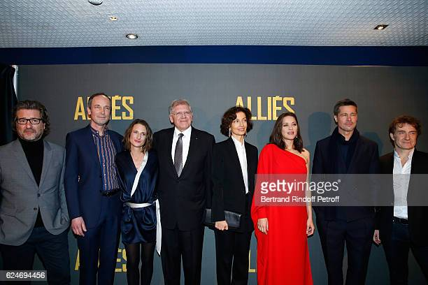 Actors Eric Theobald Xavier de Guillebon Camille Cottin Director Robert Zemeckis French Minister of Culture and Communication Audrey Azoulay actors...