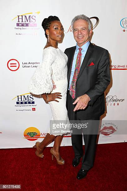 Actors Erica Ash and Tony Denison attend 'A New Day Concert For A Cause' at Saban Theatre on December 13 2015 in Beverly Hills California