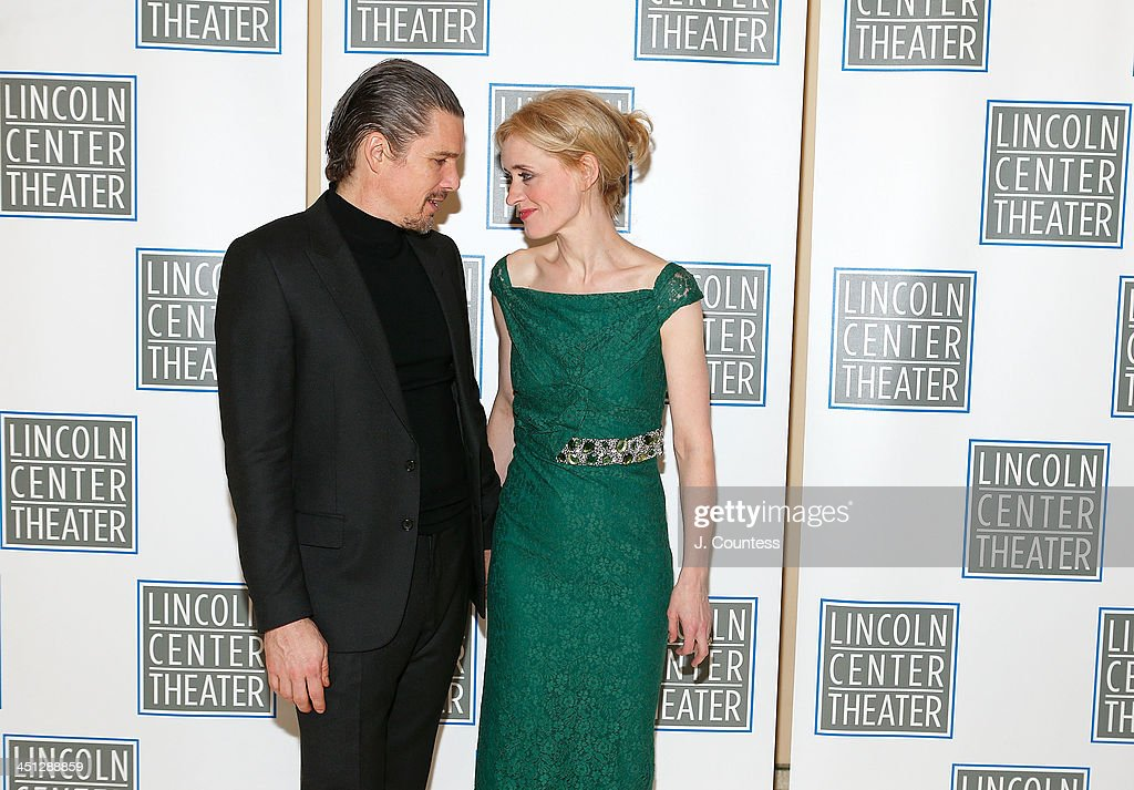 Actors <a gi-track='captionPersonalityLinkClicked' href=/galleries/search?phrase=Ethan+Hawke&family=editorial&specificpeople=178274 ng-click='$event.stopPropagation()'>Ethan Hawke</a> and <a gi-track='captionPersonalityLinkClicked' href=/galleries/search?phrase=Anne-Marie+Duff&family=editorial&specificpeople=645878 ng-click='$event.stopPropagation()'>Anne-Marie Duff</a> attend the afterparty for the opening night of 'Shakespeare's Macbeth' at Avery Fisher Hall, Lincoln Center on November 21, 2013 in New York City.