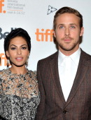 Actors Eva Mendes and Ryan Gosling attend 'The Place Beyond The Pines' premiere during the 2012 Toronto International Film Festival at Princess of...