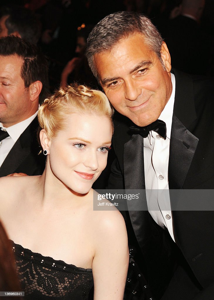 Actors <a gi-track='captionPersonalityLinkClicked' href=/galleries/search?phrase=Evan+Rachel+Wood&family=editorial&specificpeople=203074 ng-click='$event.stopPropagation()'>Evan Rachel Wood</a> and <a gi-track='captionPersonalityLinkClicked' href=/galleries/search?phrase=George+Clooney&family=editorial&specificpeople=202529 ng-click='$event.stopPropagation()'>George Clooney</a> attends the 17th Annual Critics' Choice Movie Awards held at The Hollywood Palladium on January 12, 2012 in Los Angeles, California.