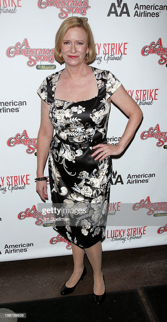 Actors Eve Plumb attends 'A Christmas Story: The Musical' Broadway opening night after party on November 19, 2012 in New York City.