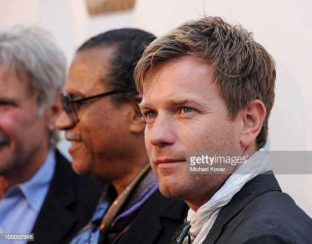 Actors Ewan McGregor and Billy Dee Williams attend 'The Empire Strikes Back' 30th Anniversary Charity Screening Event at ArcLight Cinemas on May 19...
