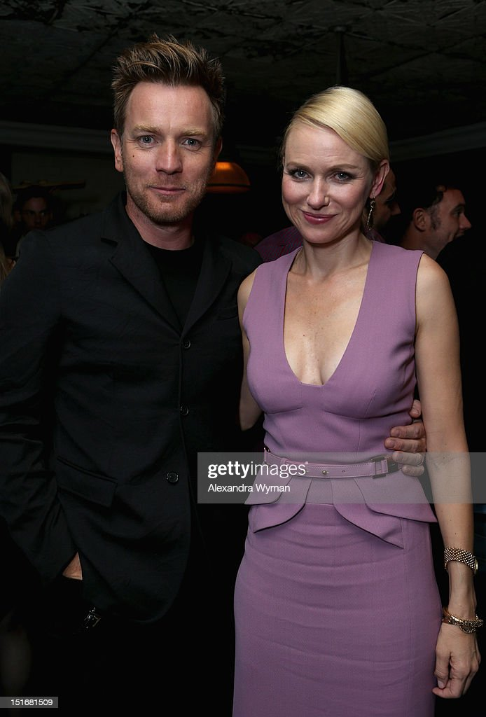 Actors <a gi-track='captionPersonalityLinkClicked' href=/galleries/search?phrase=Ewan+McGregor&family=editorial&specificpeople=202863 ng-click='$event.stopPropagation()'>Ewan McGregor</a> and <a gi-track='captionPersonalityLinkClicked' href=/galleries/search?phrase=Naomi+Watts&family=editorial&specificpeople=171723 ng-click='$event.stopPropagation()'>Naomi Watts</a> attend the Grey Goose Vodka party for 'The Impossible' at Soho House Toronto on September 9, 2012 in Toronto, Canada.
