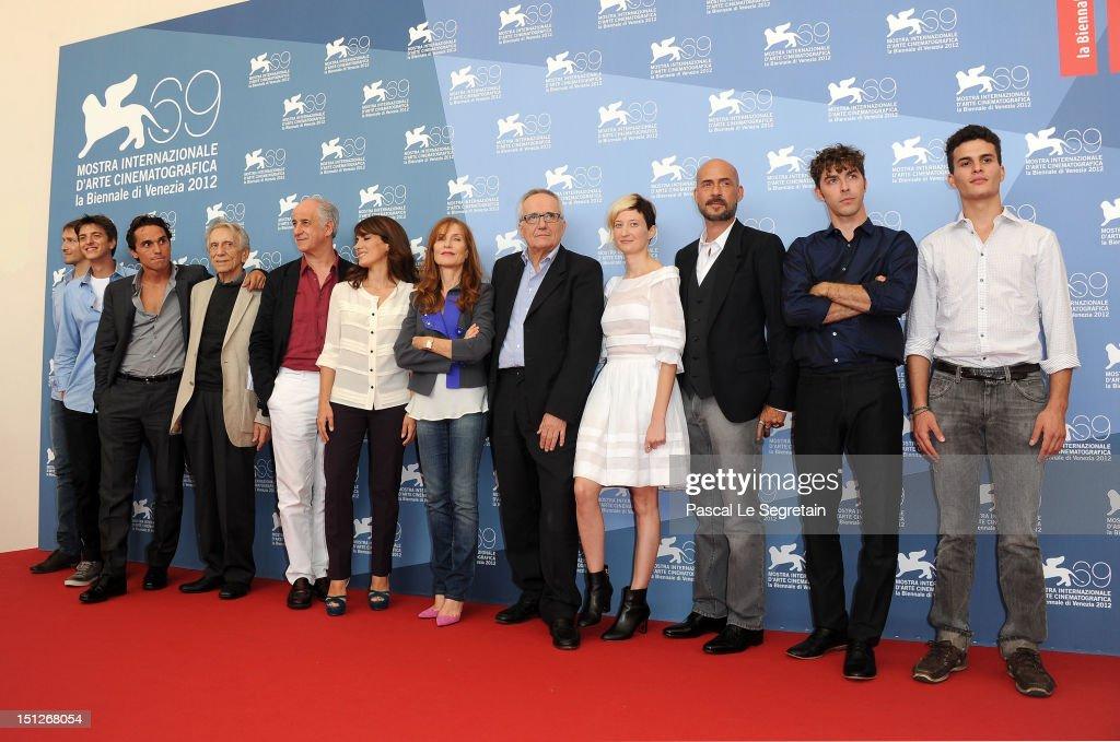 """""""Bella Addormentata"""" Photocall - The 69th Venice Film Festival"""