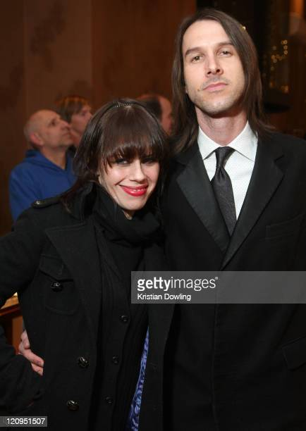 Actors Fairuza Balk and Stephen Gilmour at the Return to Oz party on January 21 2009 in Park City Utah