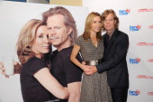 Actors Felicity Huffman and William H Macy celebrate the second annual Got Milk and Scholastic Parent and Child Magazine 'Family of the Year'...
