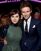 Actors Felicity Jones and Eddie Redmayne attend the 87th Annual Academy Awards Nominee Luncheon at The Beverly Hilton Hotel on February 2 2015 in...