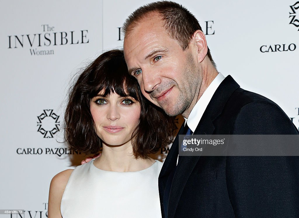 Actors <a gi-track='captionPersonalityLinkClicked' href=/galleries/search?phrase=Felicity+Jones&family=editorial&specificpeople=5128418 ng-click='$event.stopPropagation()'>Felicity Jones</a> and <a gi-track='captionPersonalityLinkClicked' href=/galleries/search?phrase=Ralph+Fiennes&family=editorial&specificpeople=206461 ng-click='$event.stopPropagation()'>Ralph Fiennes</a> attend 'The Invisible Woman' New York Premiere at Museum of Modern Art on December 9, 2013 in New York City.