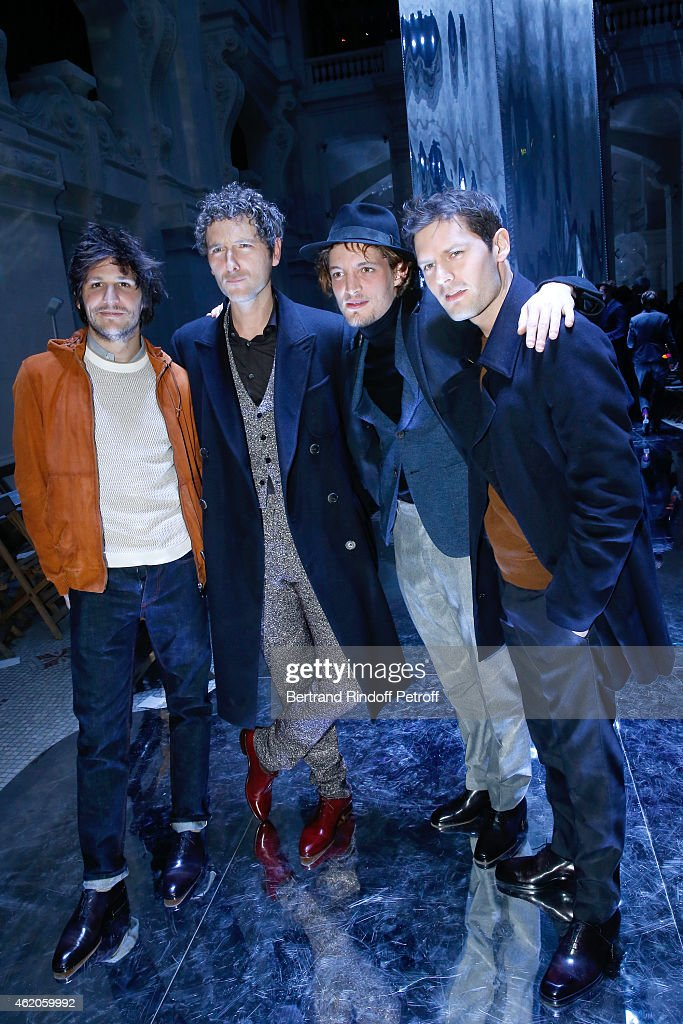 Berluti : Front Row - Paris Fashion Week - Menswear F/W 2015-2016