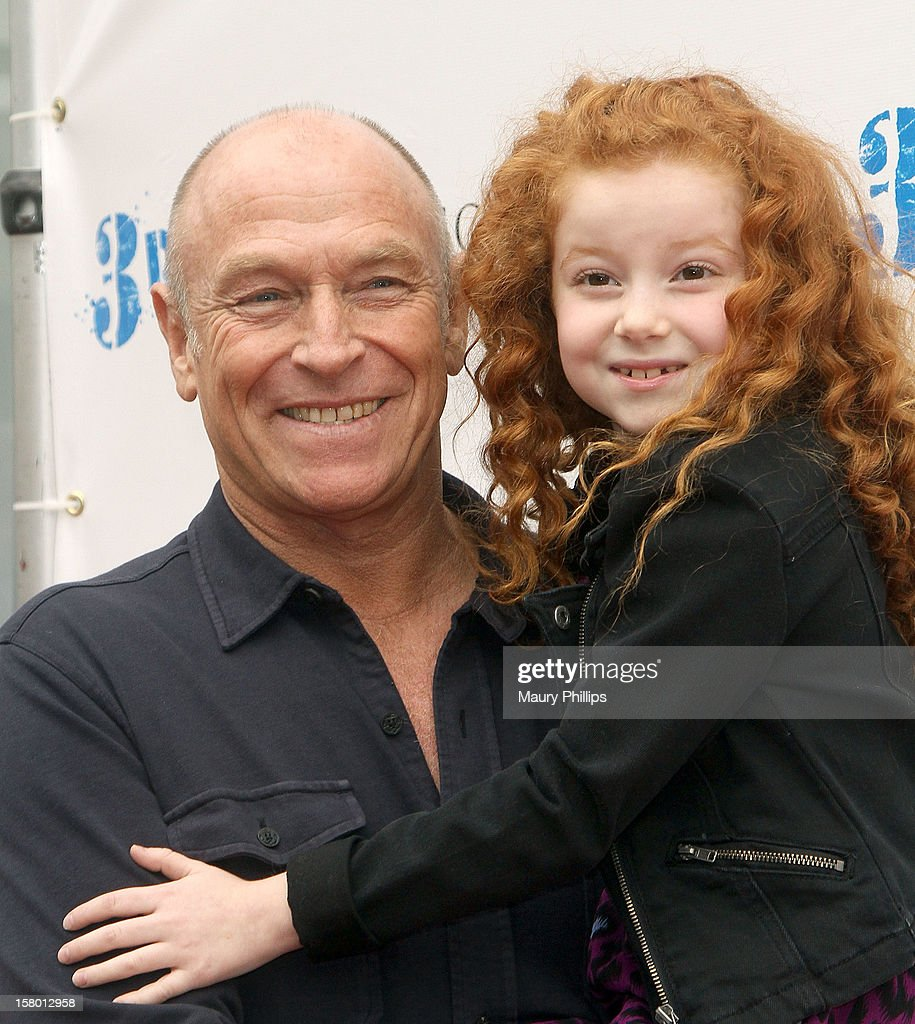 Actors Francesca Capaldi and <a gi-track='captionPersonalityLinkClicked' href=/galleries/search?phrase=Corbin+Bernsen&family=editorial&specificpeople=211428 ng-click='$event.stopPropagation()'>Corbin Bernsen</a> attend '3 Day Test' - Los Angeles Premiere at Downtown Independent Theatre on December 8, 2012 in Los Angeles, California.