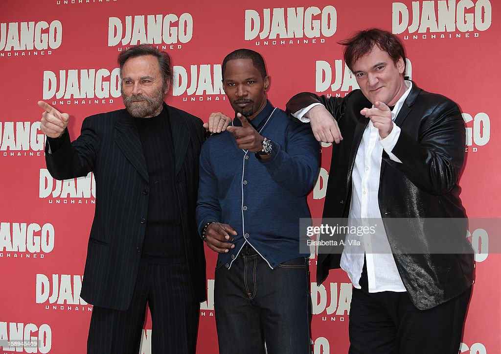 'Django Unchained' Rome Photocall