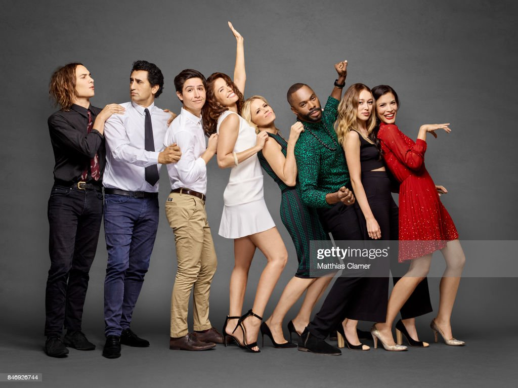 Actors Frank Dillane, Cliff Curtis, Lorenzo James Henrie, Mercedes Mason, Kim Dickens, Coleman Domingo, Alycia Debnam-Carey and Danay Garcia from 'Fear of the Walking Dead' are photographed for Entertainment Weekly Magazine on July 21, 2016 at Comic Con in the Hard Rock Hotel in San Diego, California. PUBLISHED