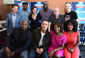 Actors Frank Whaley and Mahershala Ali radio personality Jessica Shaw actor Mike Colter executive producer Jeph Loeb actor Theo Rossi radio...
