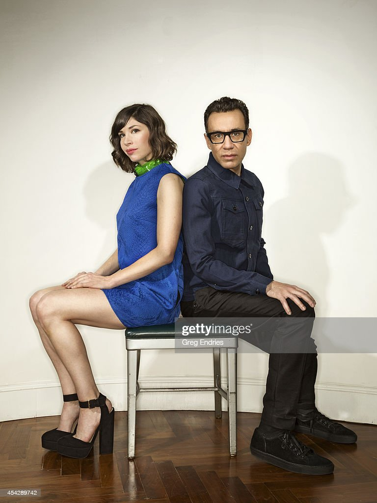 Fred Armisen and Carrie Brownstein, Emmy,  June 2014