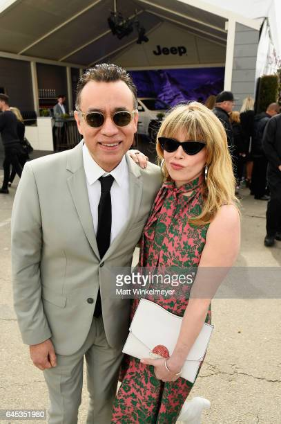 Actors Fred Armisen and Natasha Lyonne attend the 2017 Film Independent Spirit Awards at the Santa Monica Pier on February 25 2017 in Santa Monica...
