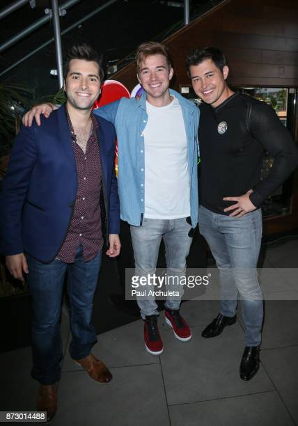 Actors Freddie Smith Chandler Massey and Christopher Sean attends the 'Day Of Days' a very special 'Days Of Our Lives' fan event at Universal...