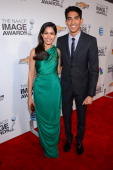 Actors Freida Pinto and Dev Patel attend the 44th NAACP Image Awards at The Shrine Auditorium on February 1 2013 in Los Angeles California