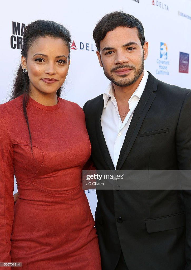 Actors Gabrielle Walsh and Rene Rosado attend Covenant House Of California's Annual Fundraising Gala, A Night Honoring Our Stars at The Globe Theatre at Universal Studios on April 30, 2016 in Universal City, California.