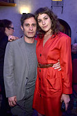 Actors Gael Garcia Bernal and Lola Kirke attend the Screening and QA for Amazon's 'Mozart In The Jungle' after party at The Hollywood Roosevelt Hotel...