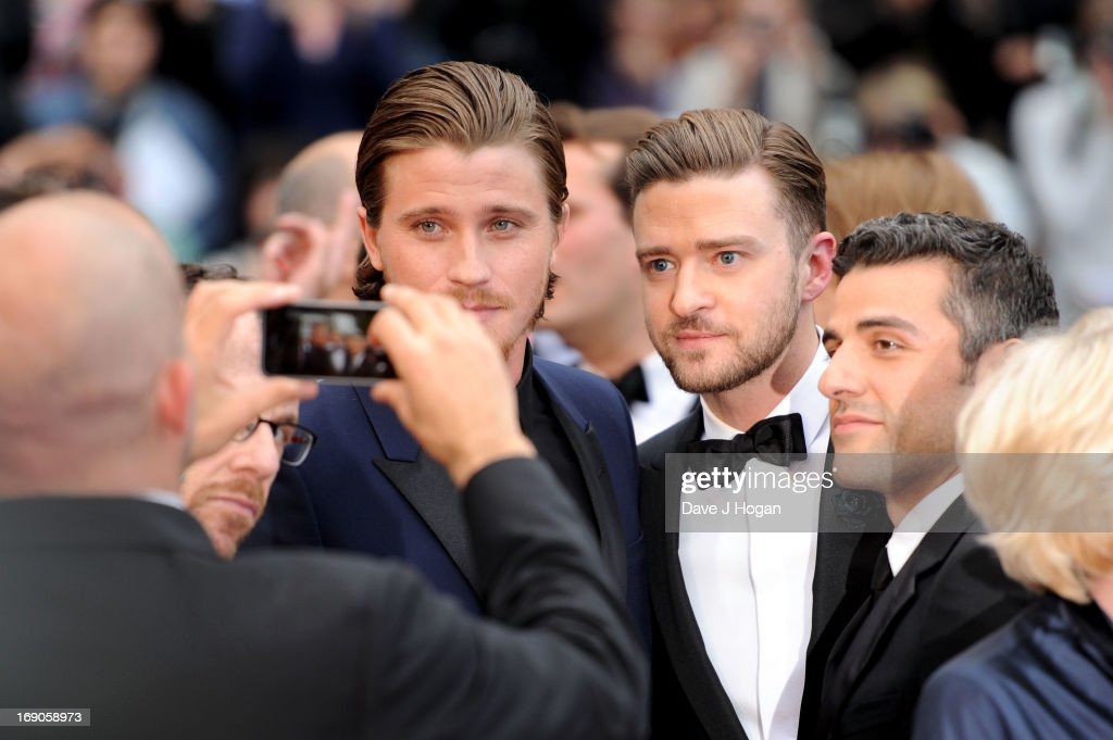 Actors <a gi-track='captionPersonalityLinkClicked' href=/galleries/search?phrase=Garrett+Hedlund&family=editorial&specificpeople=2290407 ng-click='$event.stopPropagation()'>Garrett Hedlund</a>, <a gi-track='captionPersonalityLinkClicked' href=/galleries/search?phrase=Justin+Timberlake&family=editorial&specificpeople=157482 ng-click='$event.stopPropagation()'>Justin Timberlake</a> and <a gi-track='captionPersonalityLinkClicked' href=/galleries/search?phrase=Oscar+Isaac&family=editorial&specificpeople=2275888 ng-click='$event.stopPropagation()'>Oscar Isaac</a> attend 'Inside Llewyn Davis' Premiere during the 66th Annual Cannes Film Festival at Palais des Festivals on May 19, 2013 in Cannes, France.