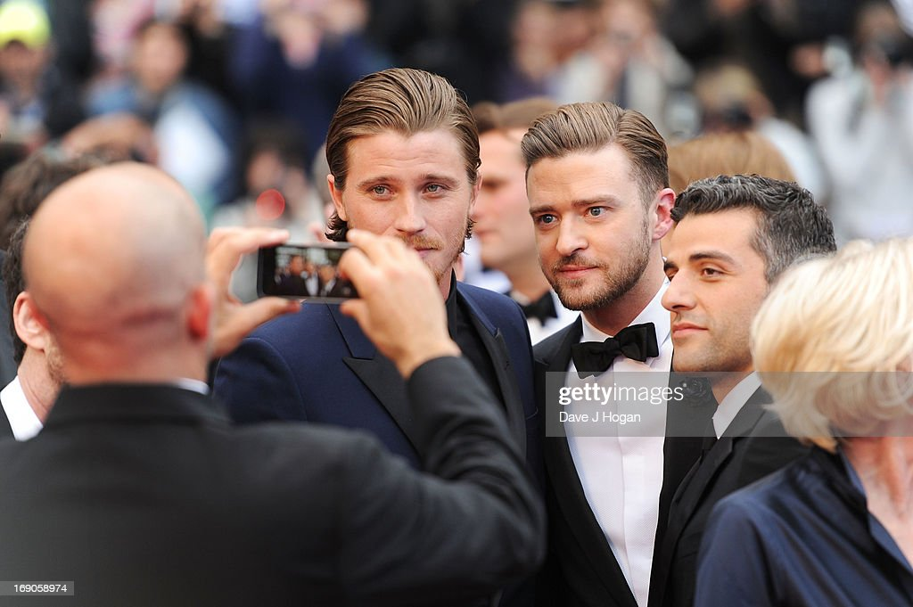 Actors Garrett Hedlund, Justin Timberlake and Oscar Isaac attend 'Inside Llewyn Davis' Premiere during the 66th Annual Cannes Film Festival at Palais des Festivals on May 19, 2013 in Cannes, France.
