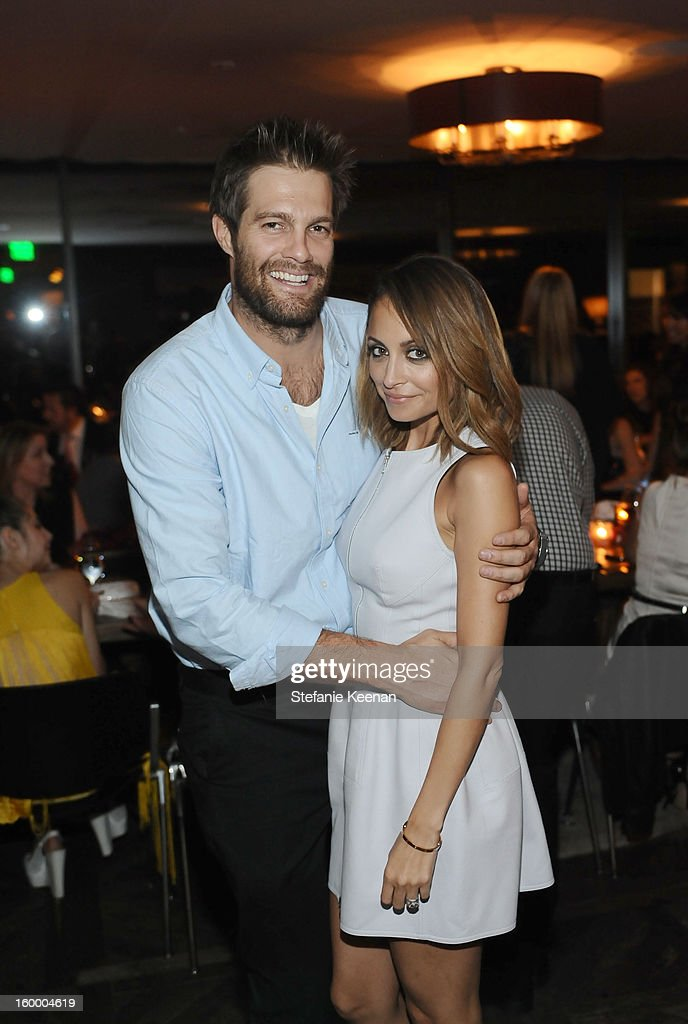 Actors <a gi-track='captionPersonalityLinkClicked' href=/galleries/search?phrase=Geoff+Stults&family=editorial&specificpeople=228938 ng-click='$event.stopPropagation()'>Geoff Stults</a> and <a gi-track='captionPersonalityLinkClicked' href=/galleries/search?phrase=Nicole+Richie&family=editorial&specificpeople=201646 ng-click='$event.stopPropagation()'>Nicole Richie</a> attend the ELLE's Women in Television Celebration at Soho House on January 24, 2013 in West Hollywood, California.