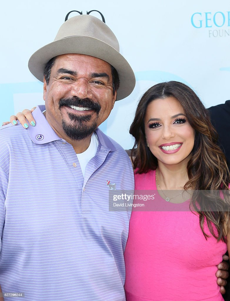 Actors <a gi-track='captionPersonalityLinkClicked' href=/galleries/search?phrase=George+Lopez&family=editorial&specificpeople=202546 ng-click='$event.stopPropagation()'>George Lopez</a> (L) and <a gi-track='captionPersonalityLinkClicked' href=/galleries/search?phrase=Eva+Longoria&family=editorial&specificpeople=202082 ng-click='$event.stopPropagation()'>Eva Longoria</a> attend the Ninth Annual <a gi-track='captionPersonalityLinkClicked' href=/galleries/search?phrase=George+Lopez&family=editorial&specificpeople=202546 ng-click='$event.stopPropagation()'>George Lopez</a> Celebrity Golf Classic at Lakeside Golf Club on May 2, 2016 in Burbank, California.
