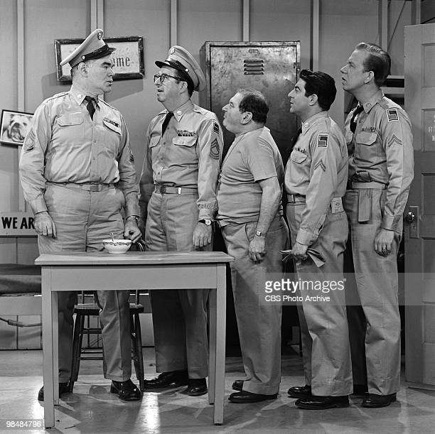 Actors George Mathews as The Beast Phil Silvers as MSgt Ernest G 'Ernie' Bilko Maurice Gosfield as Pvt Duane Doberman Harvey Lembeck as Cpl Rocco...