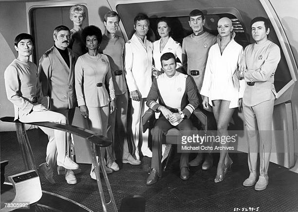 Actors George Takei James Doohan Grace Lee Whitney Nichelle Nichols Stephen Collins DeForest Kelley Majel Barrett William Shatner Leonard Nimoy...