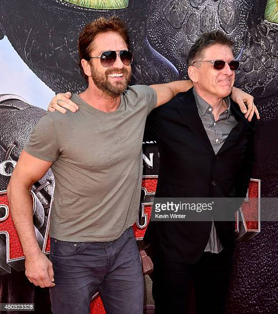 Actor gerard butler stock photos and pictures getty images premiere of twentieth century fox and dreamworks animation how to train your dragon 2 red carpet ccuart Image collections