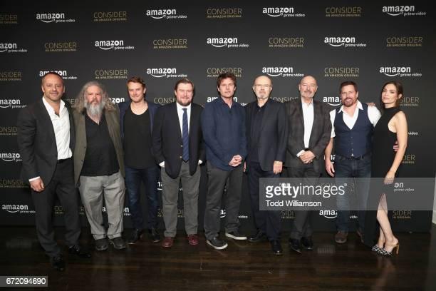 Actors Gil Bellows Mark Boone Junior Michael Dorman Michael Chernus creator/director/executive producer Steven Conrad actors Kurtwood Smith Terry...