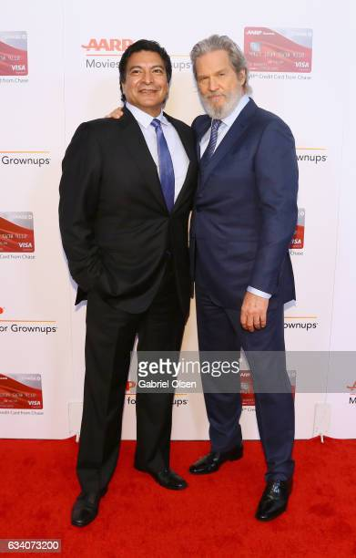Actors Gil Birmingham and Jeff Bridges attend the 16th Annual AARP The Magazine's Movies For Grownups Awards at the Beverly Wilshire Four Seasons...