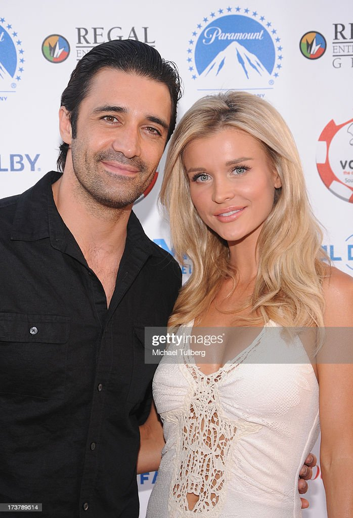 Actors <a gi-track='captionPersonalityLinkClicked' href=/galleries/search?phrase=Gilles+Marini&family=editorial&specificpeople=5360860 ng-click='$event.stopPropagation()'>Gilles Marini</a> and <a gi-track='captionPersonalityLinkClicked' href=/galleries/search?phrase=Joanna+Krupa&family=editorial&specificpeople=224038 ng-click='$event.stopPropagation()'>Joanna Krupa</a> attend the 3rd Annual Variety Charity Texas Hold 'Em Tournament & Casino Game at Paramount Studios on July 17, 2013 in Hollywood, California.