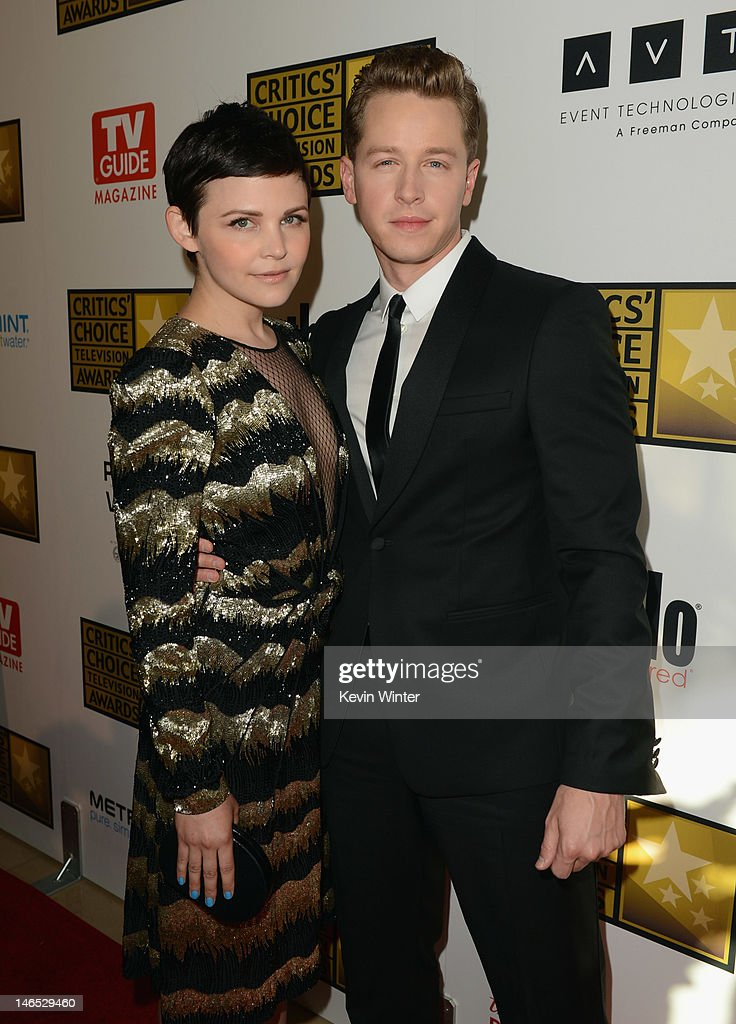 Actors Ginnifer Goodwin (L) and Josh Dallas arrive at Broadcast Television Journalists Association Second Annual Critics' Choice Awards at The Beverly Hilton Hotel on June 18, 2012 in Beverly Hills, California.