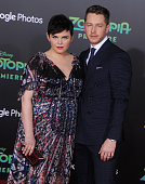 Actors Ginnifer Goodwin and Josh Dallas arrive at the premiere of Walt Disney Animation Studios' 'Zootopia' at the El Capitan Theatre on February 17...