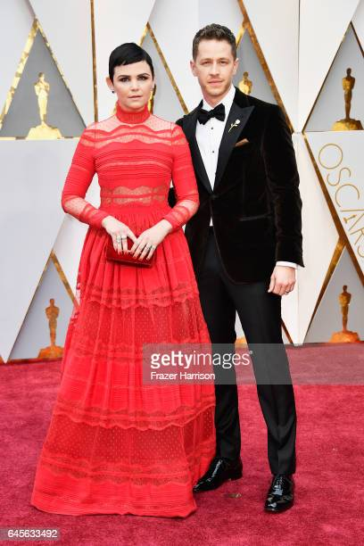 Actors Ginnifer Goodwin and Josh Dallas attend the 89th Annual Academy Awards at Hollywood Highland Center on February 26 2017 in Hollywood California