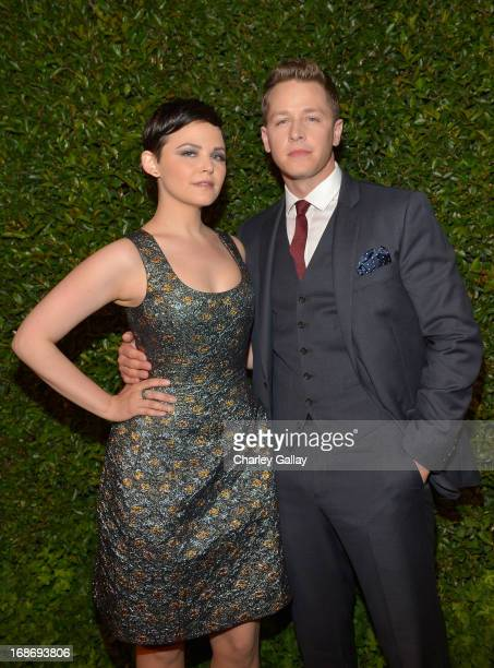 Actors Ginnifer Goodwin and Josh Dallas attend Vogue and MAC Cosmetics dinner hosted by Lisa Love and John Demsey in honor of Prabal Gurung at the...