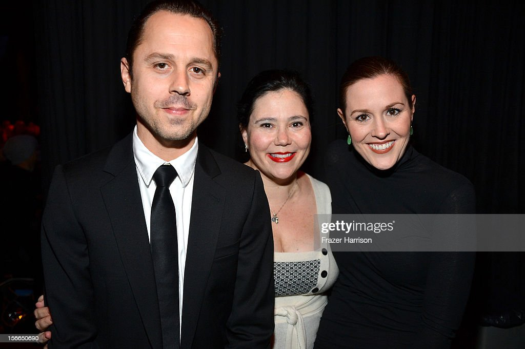 Actors Giovanni Ribisi, Alex Borstein, and Rachel MacFarlane attend Variety's 3rd annual Power of Comedy event presented by Bing benefiting the Noreen Fraser Foundation held at Avalon on November 17, 2012 in Hollywood, California.