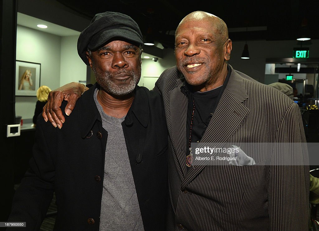Actors Glynn Turman and Louis Gossett Jr attend the 5th anniversary of 'Kat Kramer's Films That Changed The World' featuring the North American...