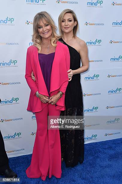 Actors Goldie Hawn and Kate Hudson attend Goldie Hawn's Annual Goldie's Love In For Kids on May 06 2016 in Beverly Hills California