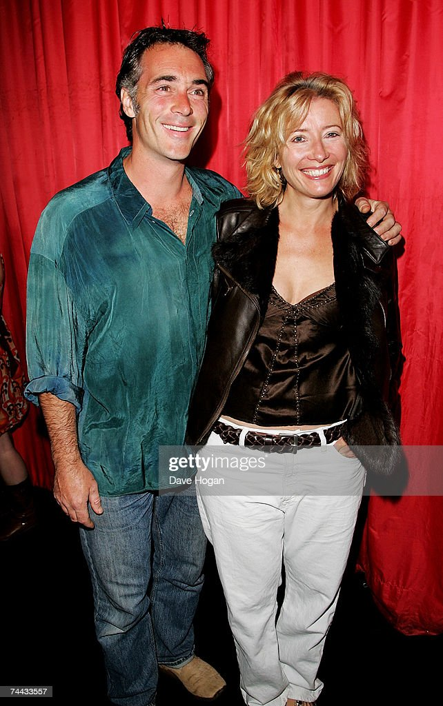 Actors Greg Wise and Emma Thompson arrive at the Electric Ballroom to attend Paul McCartney exclusive gig on June 7, 2007, in London.