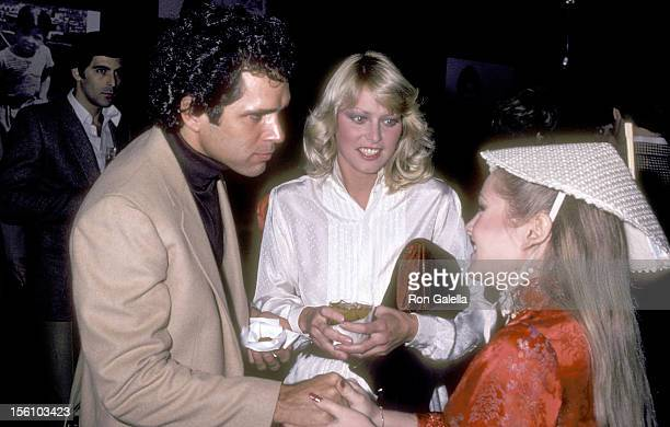 Actors Gregory Harrison Randi Oakes and Charlene Tilton attend 'Erik Estrada's Surprise 37th Birthday Party' on March 7 1981 at Madame Wu's...